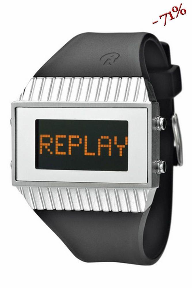 REPLAY Man Watch #REPLAY #Fashion