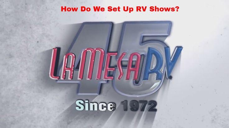 Time Lapse Video of University of Phoenix Stadium RV Show setup.