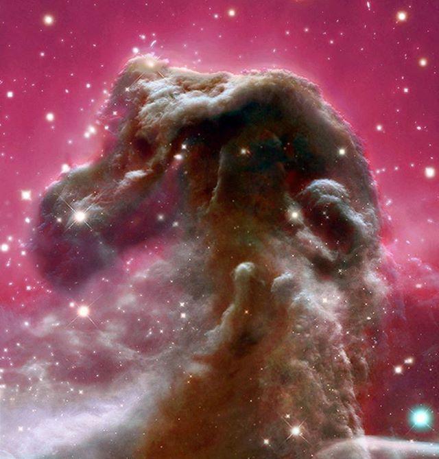 Nebulosa Cabeza de Caballo en Infrarrojo.