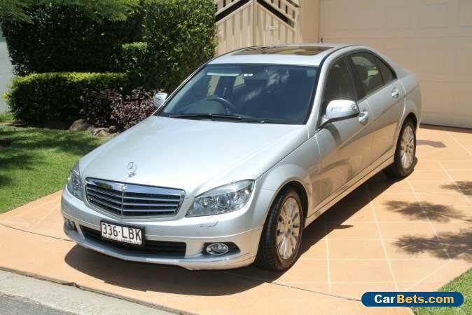 2008 Mercedes-Benz C200 Kompressor W204 Elegance Silver Automatic 5sp A Sedan #mercedesbenz #c200kompressor #forsale #australia