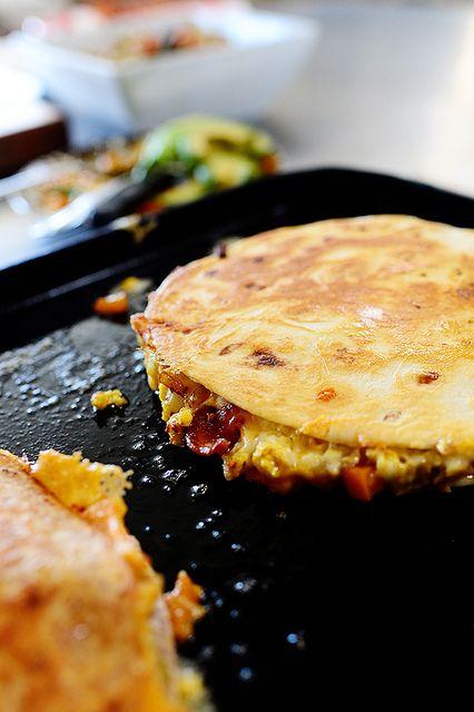 Breakfast Quesadillas recipe [ FGarciaFoods.com ]