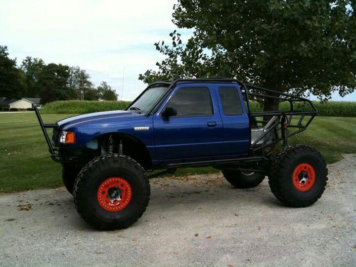 Ford Ranger Truggie Rock Crawlers Diesels Off