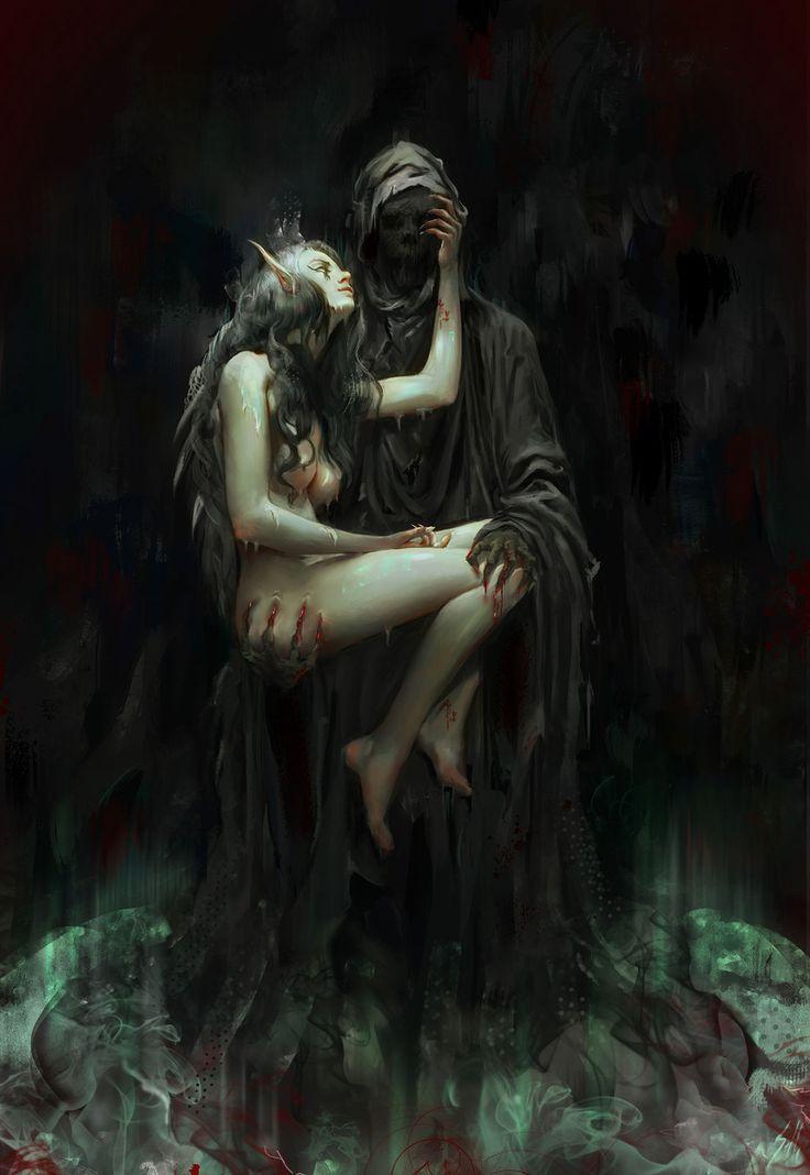 Fuck! Tease fantasy gothic girl nude