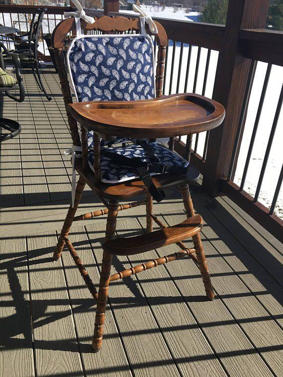 High Chair Cushion Wooden High Chair Padhighchair Cover
