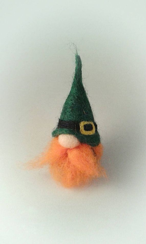 Check out this item in my Etsy shop https://www.etsy.com/uk/listing/263136823/needle-felted-leprechaun-st-patricks-day