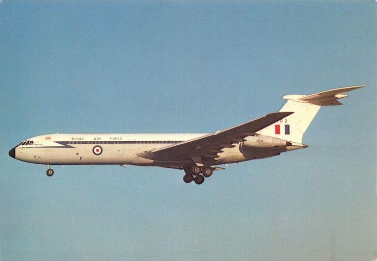 ICYMI: #Postcard NEW BAC Vickers VC10 C1 VX102 #RAF Brize Norton Charles Skilton No.454
