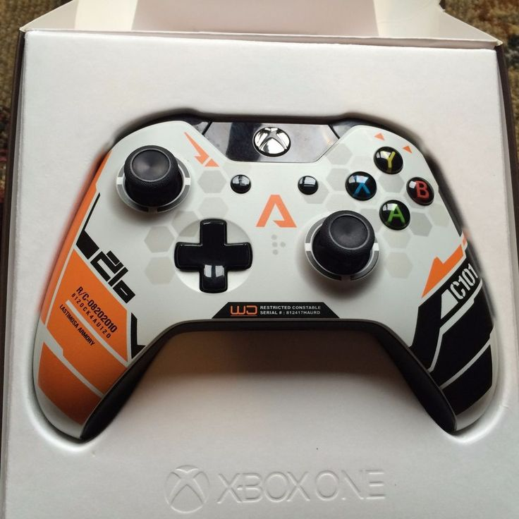 Limited Edition Titanfall Xbox One Controller w/ Kontrol Freeks #Microsoft