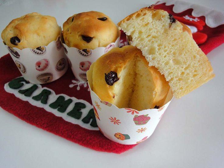 Caprichos sin gluten: Mini panettone