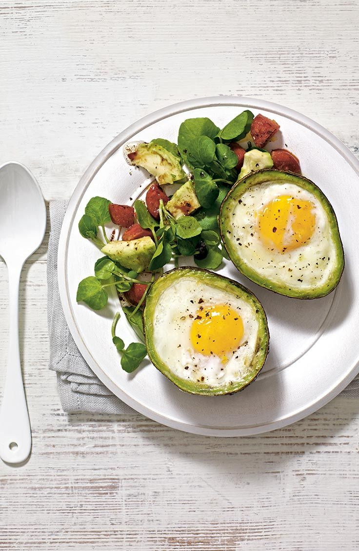 Not sure what to eat after a work-out? Re-fuel with our Avocado Egg Cups recipe.