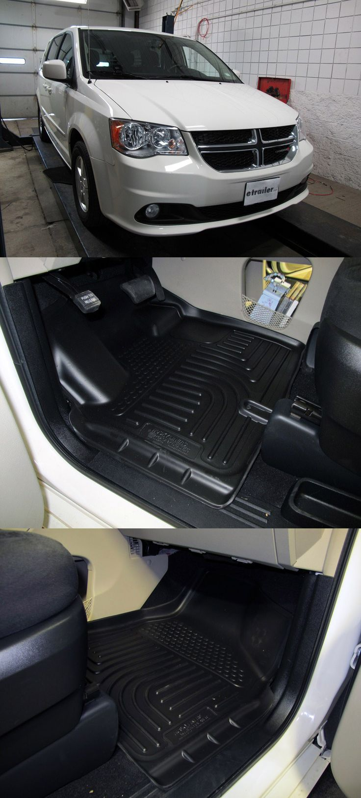 For the cars that inevitably get messy - these accessories are great for traveling to and from school, long road trips and everything in between. Floor matts are compatible with the Dodge Grand Caravan and keep it clean!