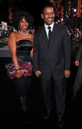 Denzel Pauletta Washington married since 1983