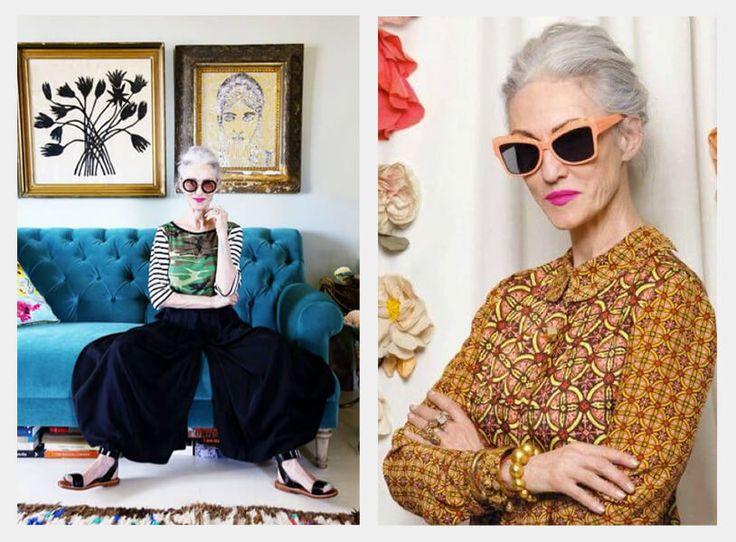 Imagen que contiene a la estilista linda rodin sentada sobre un sillón, vistiendo una camiseta de algodón que combina dos estampados, el camuflado y las rayas.
