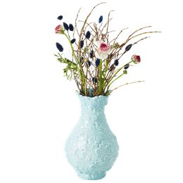 rice vase i keramik - mintfarvet