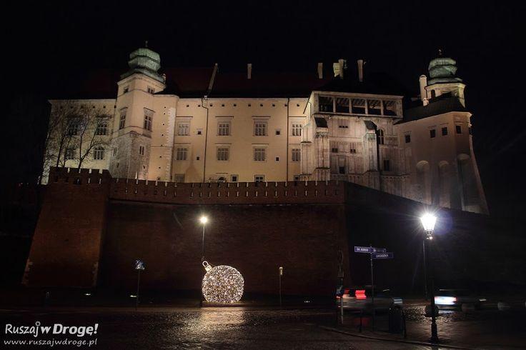 Krakowski #Wawel nocą
