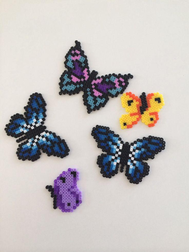 Butterflies Perler Beads Perler Perler Beads Beads