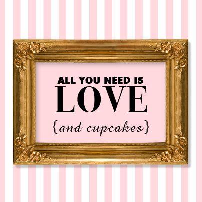 That's all We Need! SugarTwin - www.sugartwin.com #sugartwin #sugarsubstitute #cupcakes