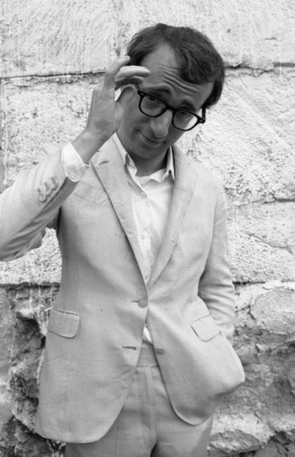 Woody Allen, London, 1967 / Sam Shaw                                                                                                                                                                                 More