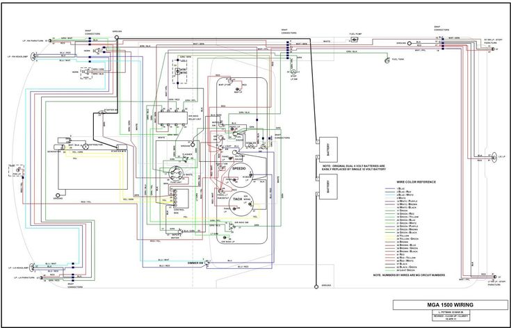 Awesome Mg Midget 1500 Wiring Diagram 57 In 6 Way Trailer