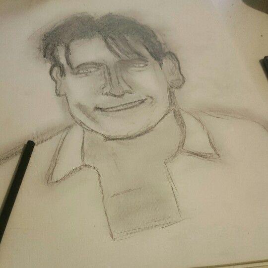 Charlie Sheen #winning #pencil
