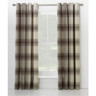 Buy Heart of House Angus Eyelet Curtains 117 x 137cm - Neutral at Argos.co.uk - Your Online Shop for Curtains, Limited stock Home and…