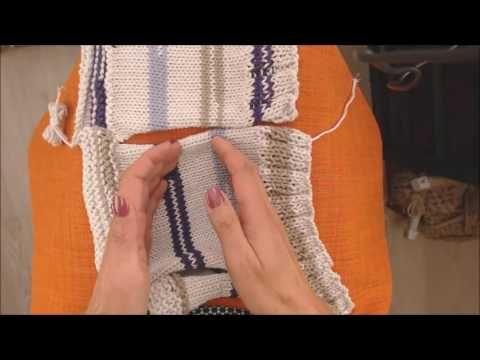 Apprendre à tricoter : la couture invisible - YouTube