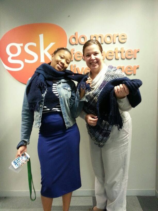 The Guvon Hotels & Spas team was feverishly knitting away for the Scarves to Schools Challenge by GlaxoSmithKline Pharmaceuticals Ltd (GSK) & Expresso Morning Show - SABC 3 ... We were challenged by Indaba Hotel, Spa & Conference Centre to knit at least a 100 scarves and after a few weeks of hard work yet loads of fun the Guvon properties knitted a staggering 260 scarves for this great initiative! #atGuvon #GuvonCares #charity