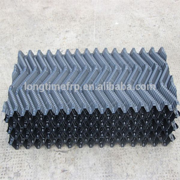 Square Counter Flow Cooling Tower S Wave Pvc Water Cooling Tower