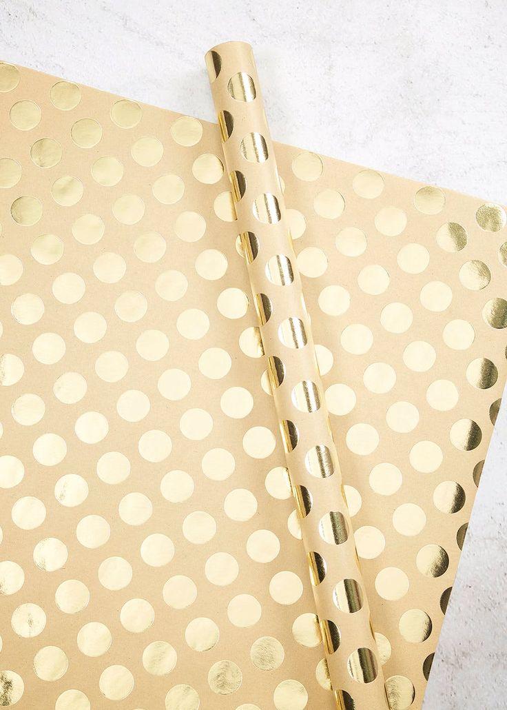 Spot Christmas Wrapping Paper (3m) – Matalan