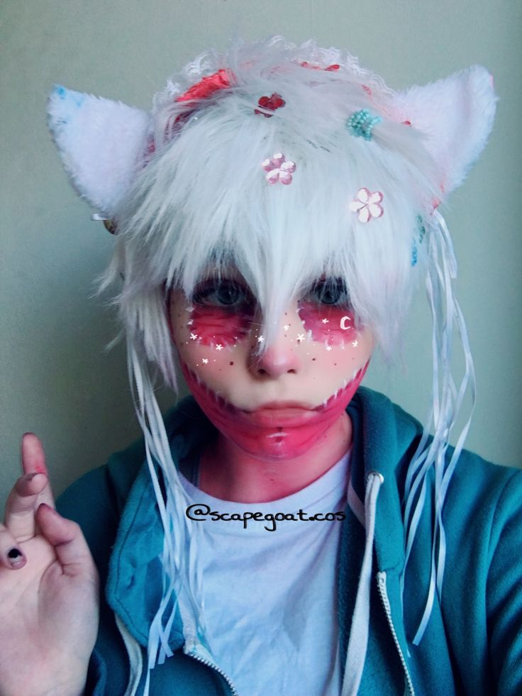 Pin By Karma Licht On Pastel Dabi Cosplay Cosplay Anime Anime Guys Carnival Face Paint