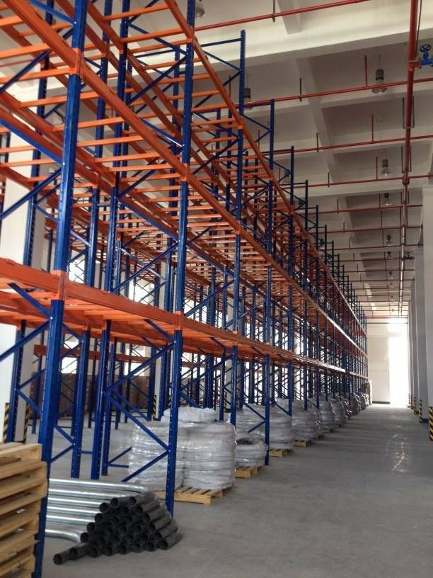 The pallet racking system we made for our Thailand customer. will@racking-china.com