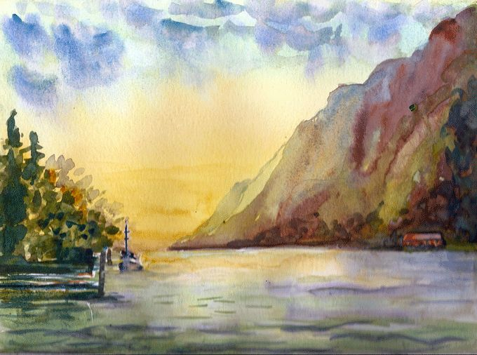 watercolor by Joanna Lazuchiewicz 2014 (G.Kersey)
