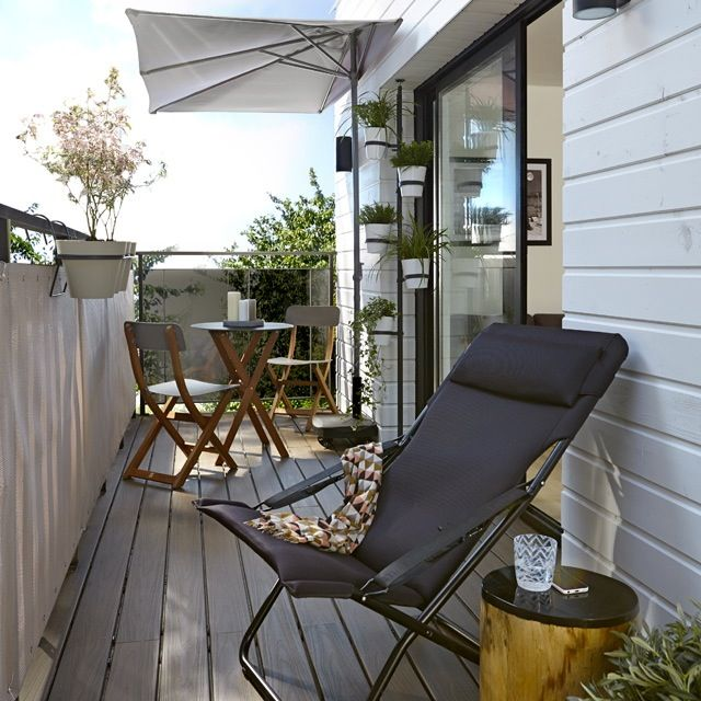 comment am nager son balcon deco balcon pinterest balcons deco balcon et appartements. Black Bedroom Furniture Sets. Home Design Ideas