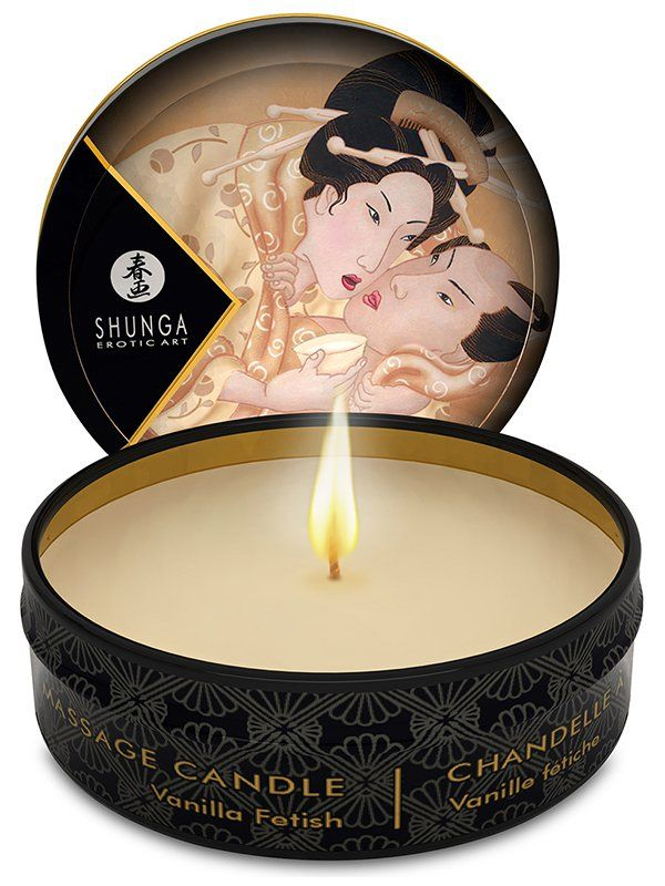 Превратите ваши будни в романтические и роскошные моменты с массажным маслом в виде свечи Vanilla Fetish!