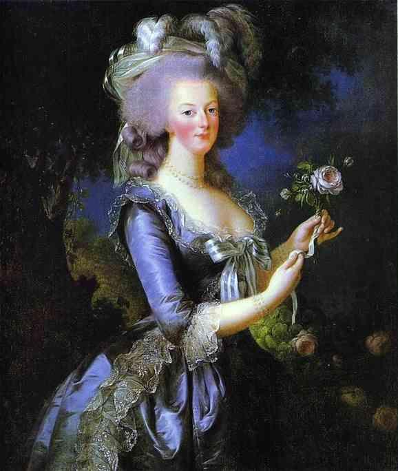 Marie-Antoinette (1755 - 1793)Louiseelisabeth Vigeelebrun, Marie Antoinette, French Revolutions, French Blue, Mary Antoinette, French Queens, Elisabeth Vigee Lebrun I, Painting, Antoinette Elisabeth