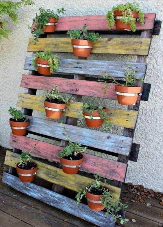 Mini Giardini con bancali! 20 idee per ispirarvi…
