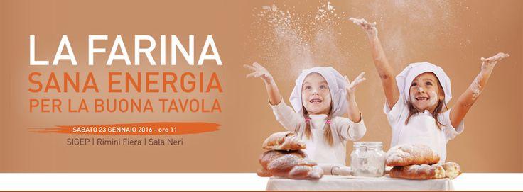 FARINA, SANA ENERGIA 23 Gen ore 11 Rimini Fiera http://www.infofarine.it/partecipa-allevento/ … #InfoFarine #Italmopa #farinasanaenergia