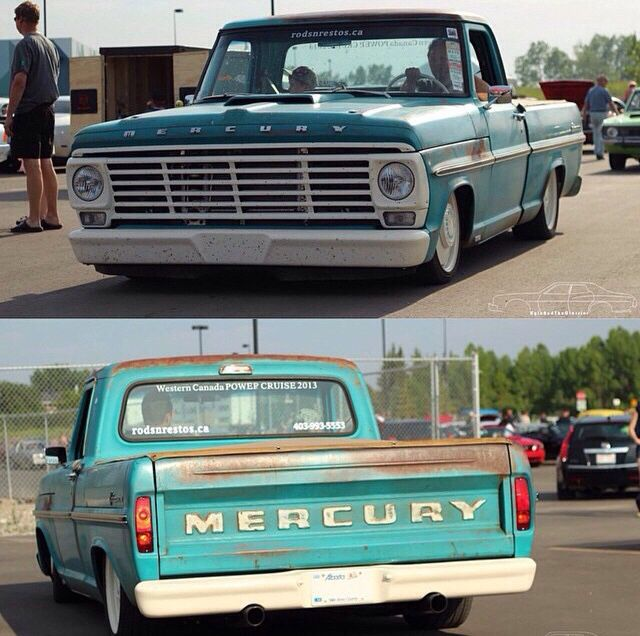 1968 Mercury M100 with a 427