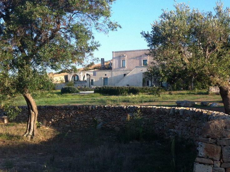 The grounds of the Masseria Le fabriche.