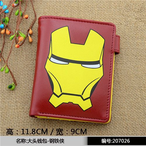 The Avengers Batman Superman Wallets Captain AMERICAN AND Flashman