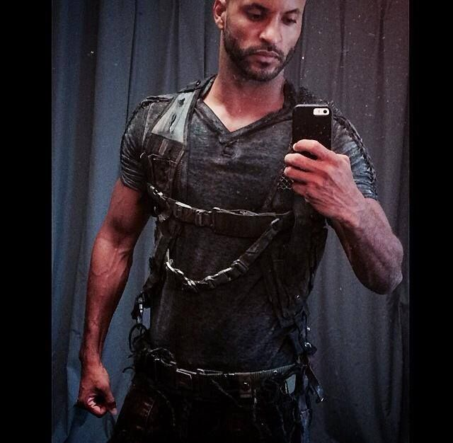 Ricky Whittle #The100 | ricky whittel | Pinterest | Ricky ...