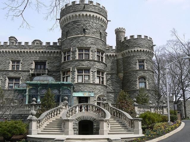 Arcadia University Glenside Pa Grey Towers Castle
