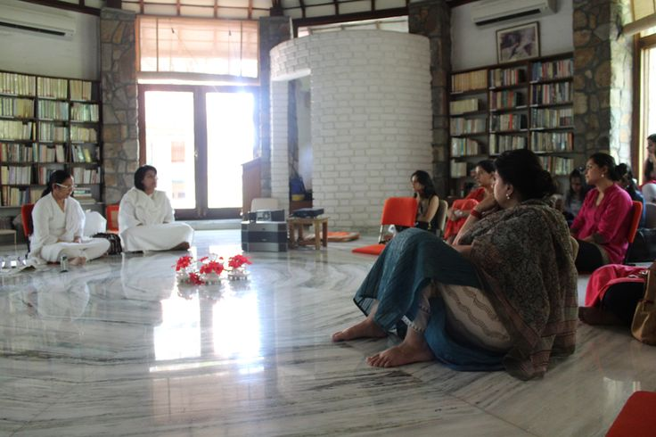 Interactions with Interns from VIMHANS at The Gnostic Centre for interaction on The Travelling Within Retreat. Facilitated by Ameeta Mehra & Ritika Goyal
