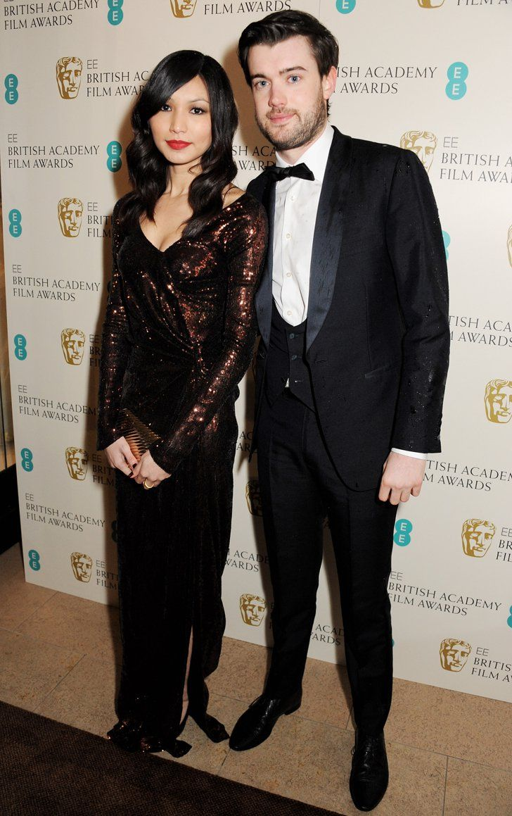 Gemma Chan with her boyfriend Jack Whitehall in an event