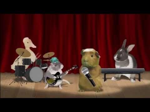 5 Little Bunnies | The Sleepy Time Pets Animal Band | Nursery Rhymes for...