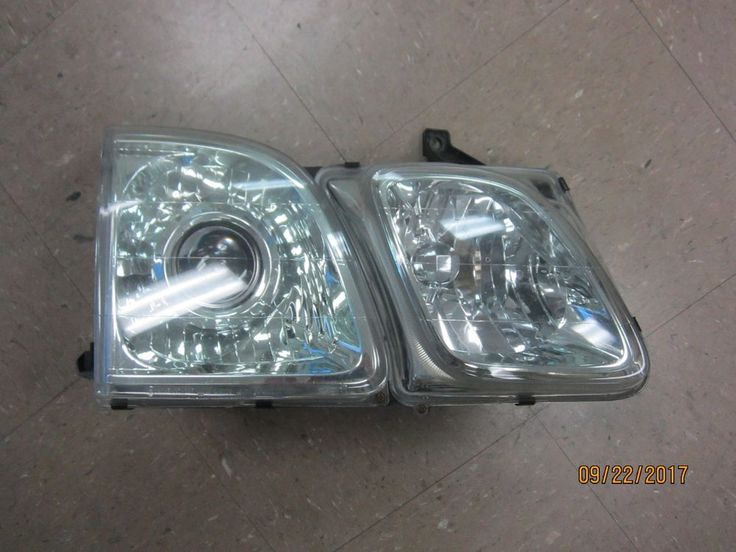 02 2002 LEXUS LX470 LX 470 RIGHT SIDE HEADLIGHT HEAD LIGHT #L2 #Lexus
