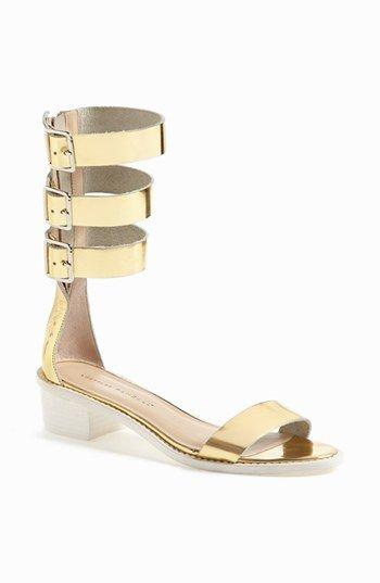 fd5e7e7b4fc439 Gold Gladiator Sandals - Nordstrom Half Yearly Sale