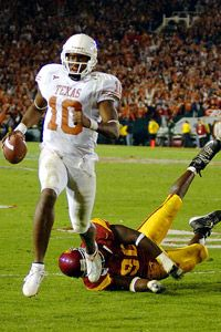 Vince Young, game winning TD for National Championship,  Rose Bowl 2006