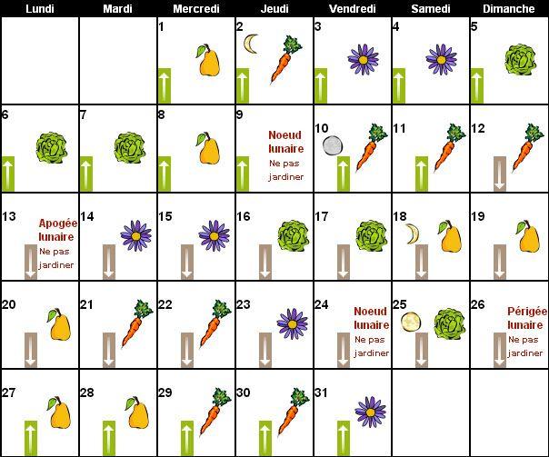 1000 id es sur le th me calendrier lunaire jardin sur for Savoir jardiner
