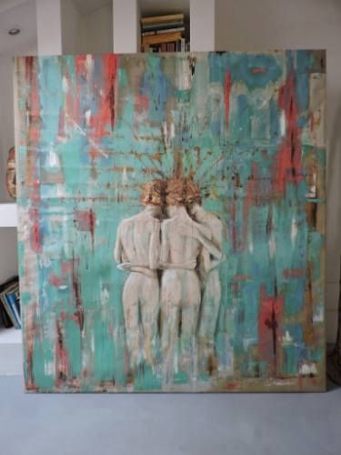 "Saatchi Art Artist Michele Rizzi; Painting, ""A new beginning"" #art"