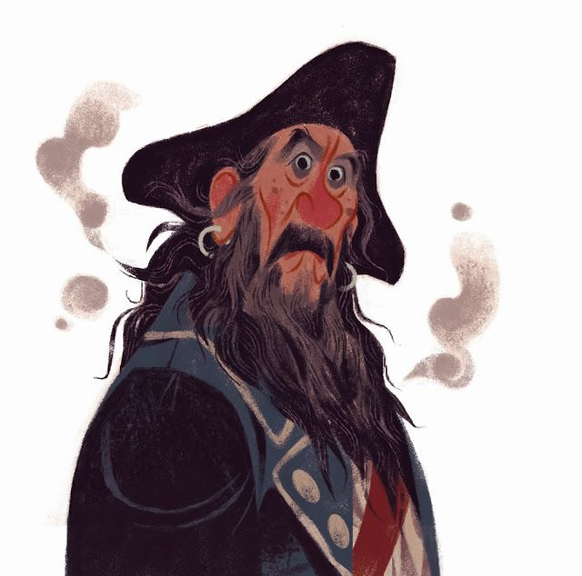 CHARACTER DESIGN REFERENCES - Pirate